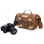 brand DSLR SLR Camera Canvas shoulder bag for Sony Canon Nikon Olympus