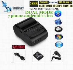 58mm Mini Portable Bluetooth 4.0 Wireless Receipt Thermal Printer