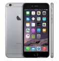 factory refurbished unlocked iPhone 6 Plus 128GB silver cell phone