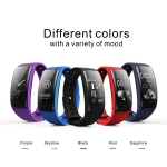 toptruly QS90 Blood Pressure Smart Bracelet Heart Rate Monitor Blood Oxygen Monitor IP67 Fitness Tracker for Andriod IOS