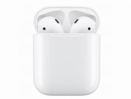 Genuine Apple AirPods 2 Wireless Earphone Headphones Original Apple's Bluetooth Headphones for iPhone Xs Max XR 7 8 Plus Accessory